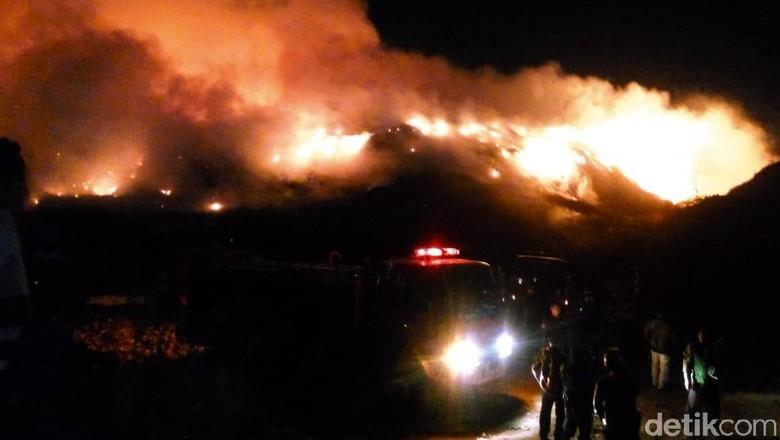 TPA Putri Cempo Solo Kebakaran