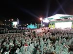 Presiden Jokowi Pimpin Apel Akbar Santri Nusantara di Solo