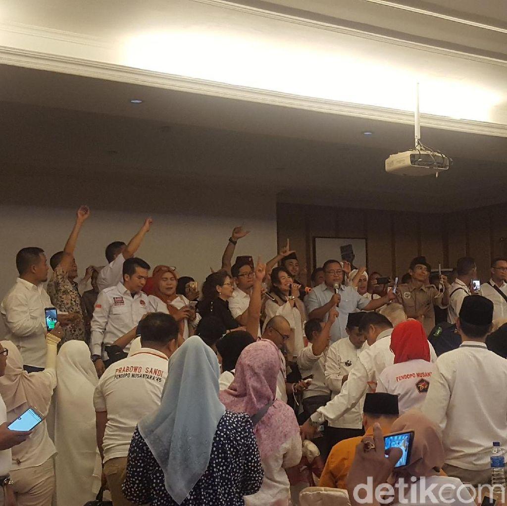 Relawan Pena45 Deklarasi Dukungan untuk Prabowo-Sandiaga
