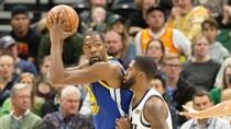Durant dan Curry Menggila, Warriors Kalahkan Jazz