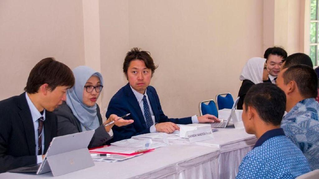 Di Jobfair Ini, Banyak Perusahaan Jepang Minat Rekrut WNI