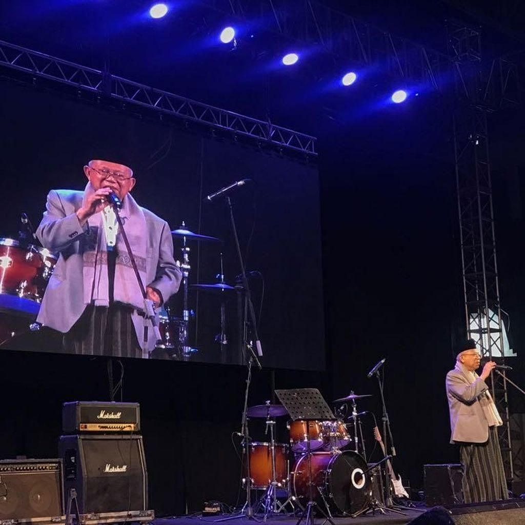 Hadiri Konser Nasyid, Maruf Amin Imbau Perbanyak Selawat
