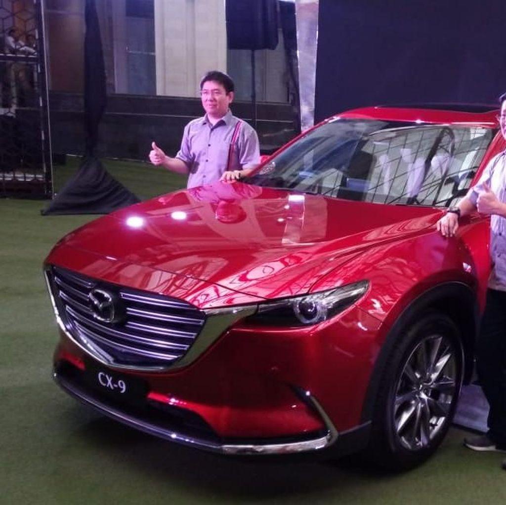 Perpaduan Kemewahan dan Kenyamanan di Mazda All New CX-9
