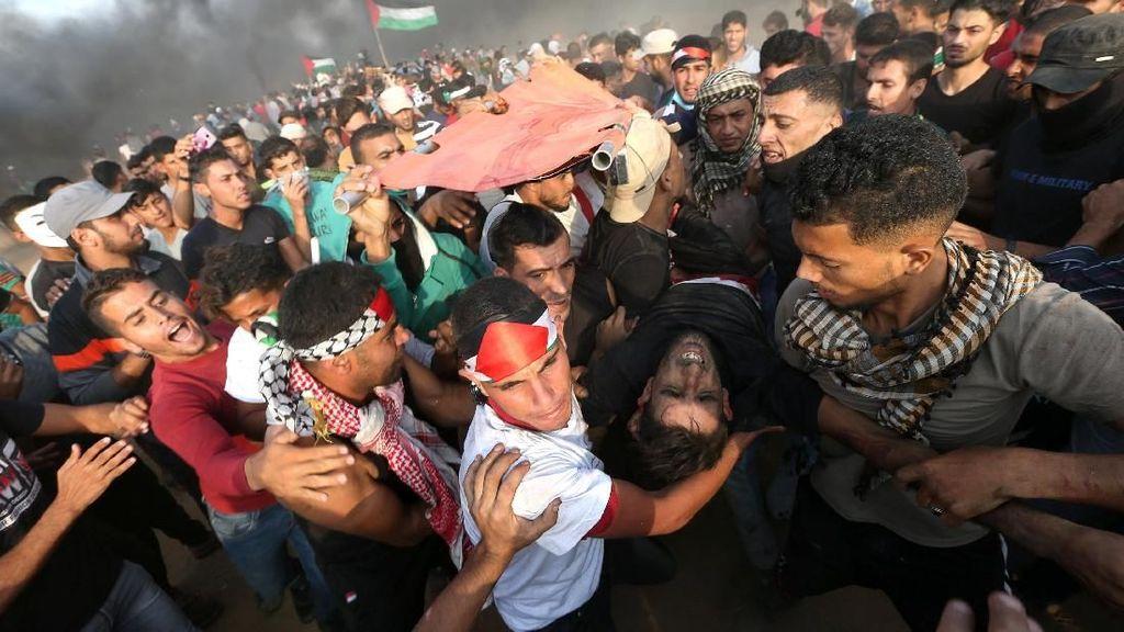 Bentrok dengan Israel, 130 Warga Palestina Terluka