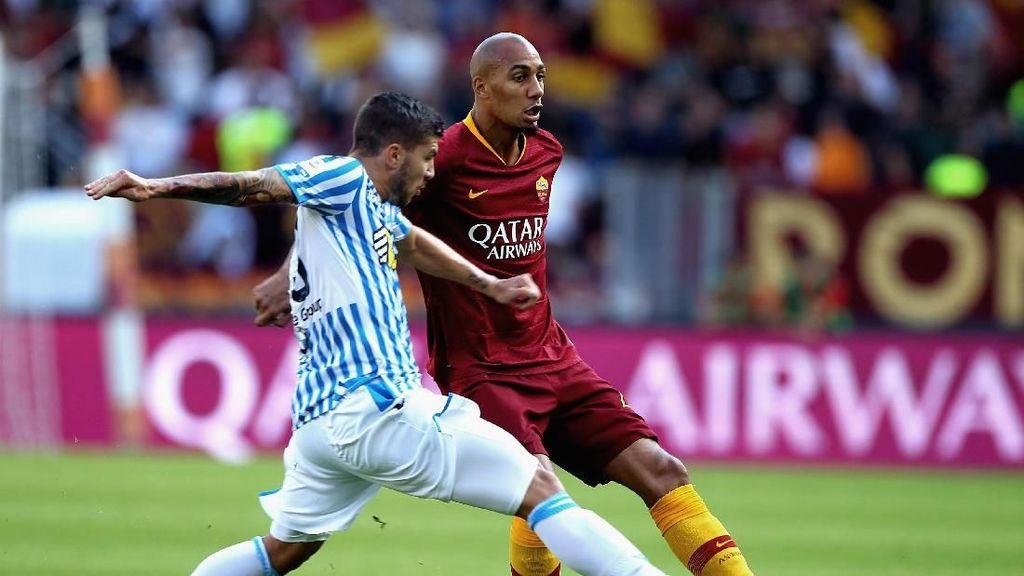 Hasil Roma vs SPAL: Serigala Terjerat di Kandang Sendiri