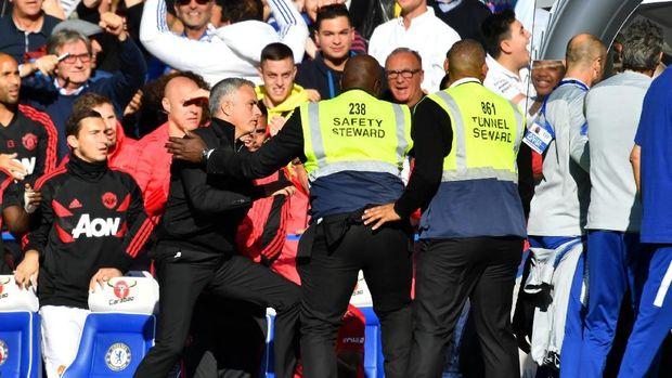 Mourinho geram dengan perilaku Marco Ianni.