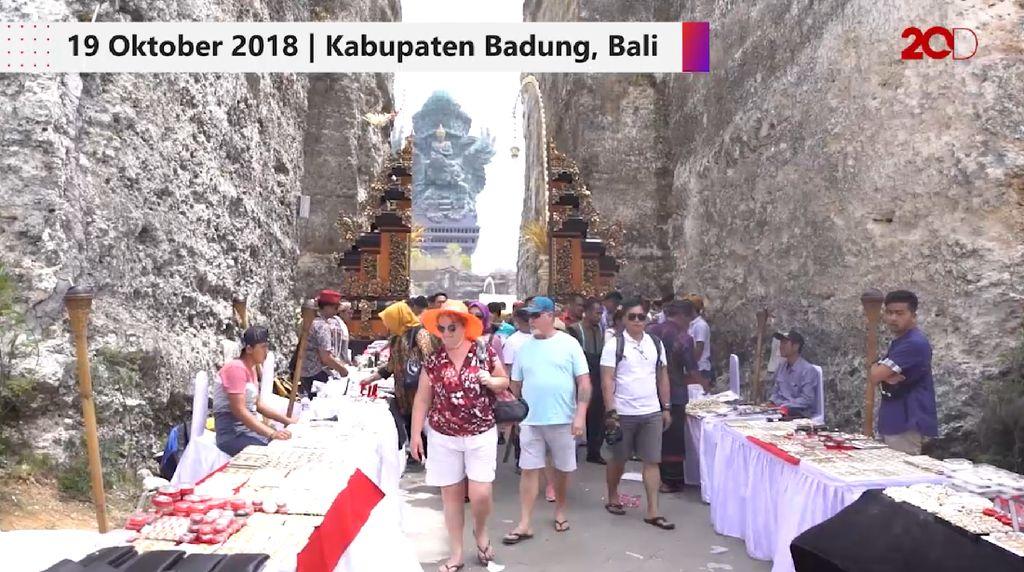 Teknologi hingga Kesenian Desa Mejeng di GWK Bali