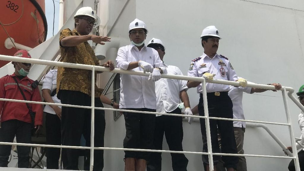 Menhub Pesan 100 Kapal untuk Tol Laut, 76 Unit Sudah Selesai