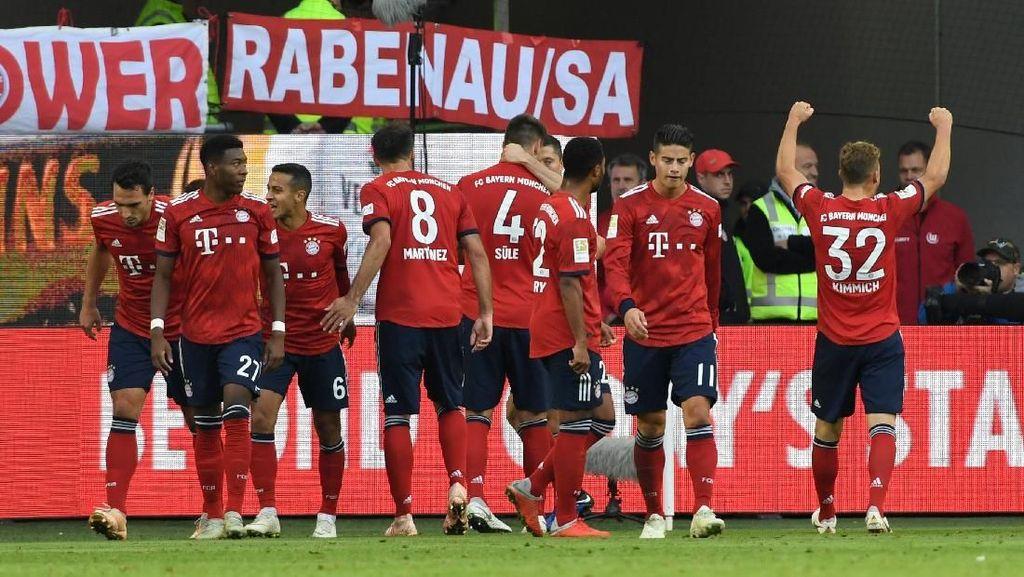 Hasil Wolfsburg vs Bayern Munich: Die Roten Akhiri Tren Buruk