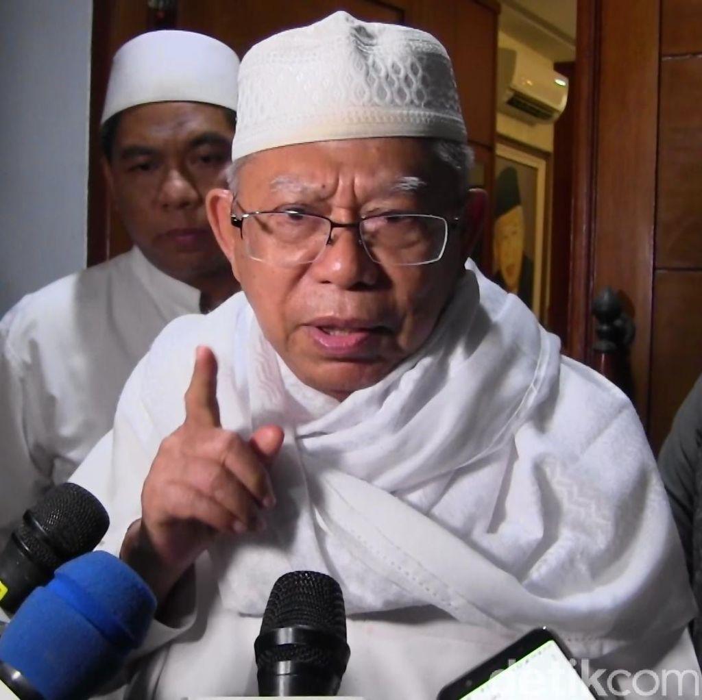 Maruf Khawatir Perusakan Baliho SBY Dikaitkan ke Kubu Jokowi