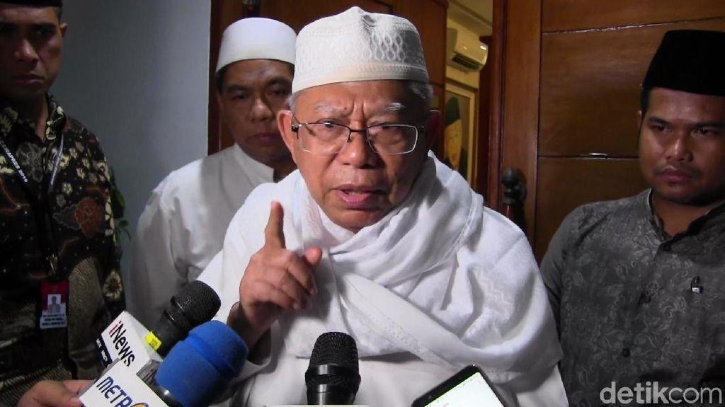 Maruf Amin: Menurut WHO, Usia Saya Paruh Baya Bukan Tua