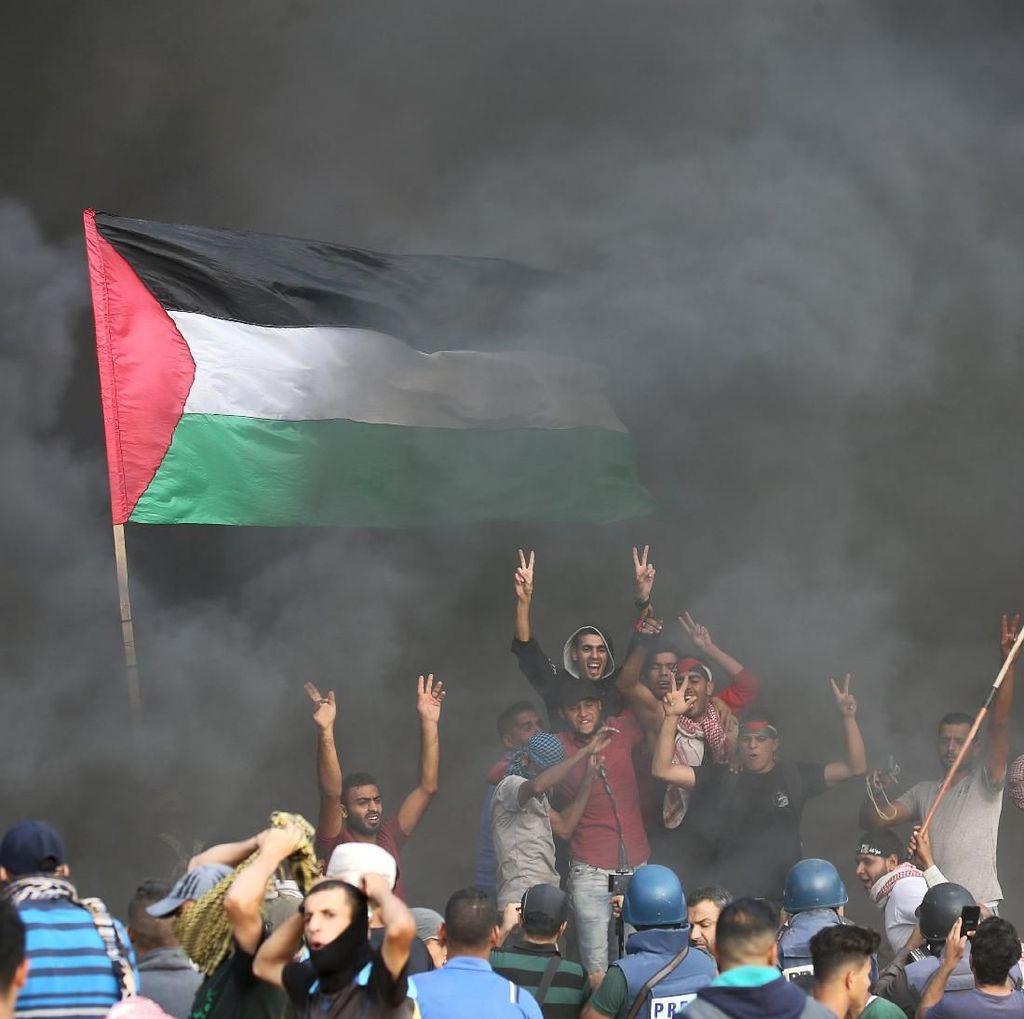 130 Warga Palestina Terluka Ditembak Tentara Israel di Gaza
