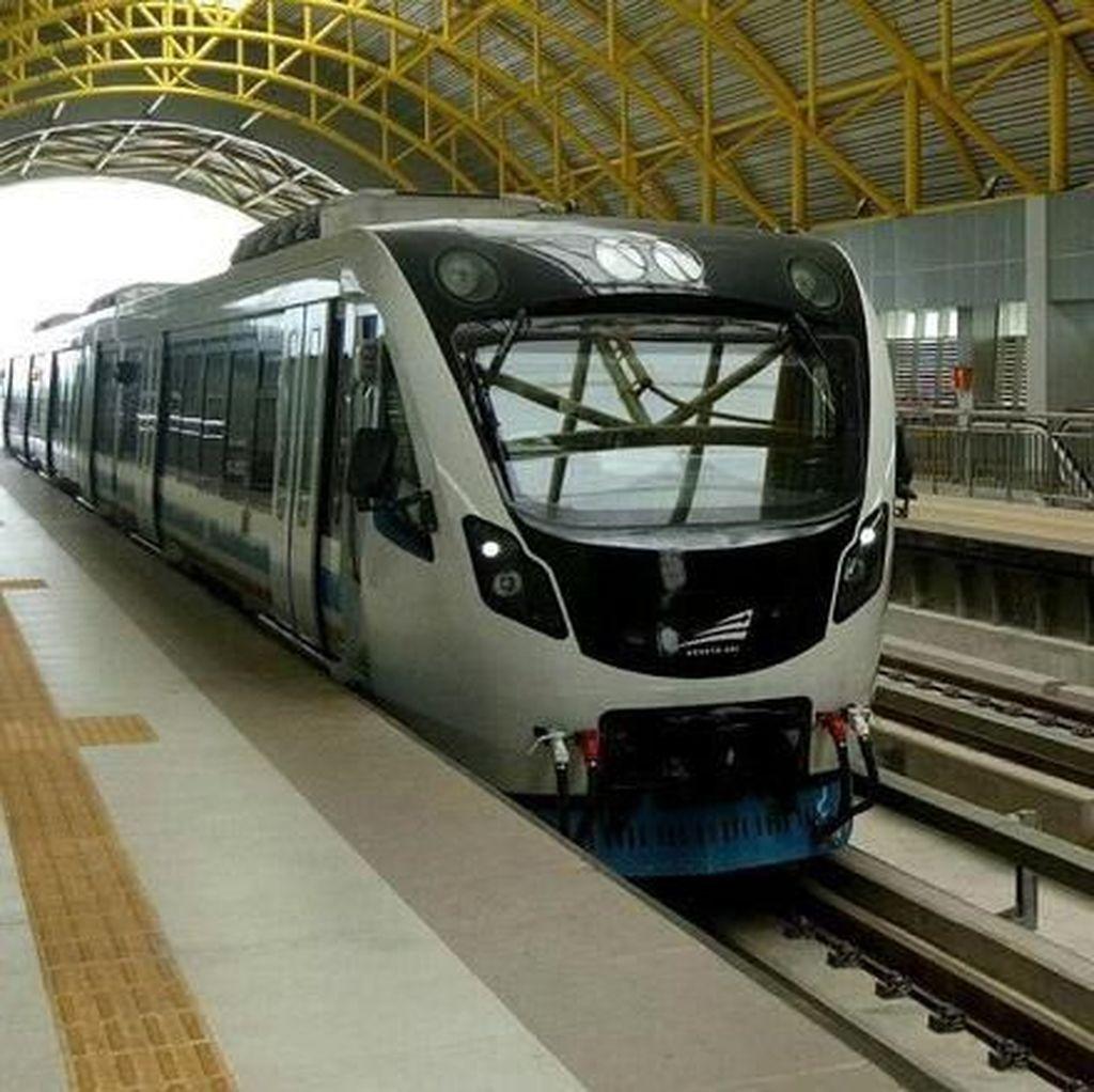 4 Tahun Jokowi JK: Jabodebek dan Palembang Punya LRT