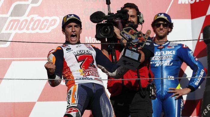 Marc Marquez juaara dunia MotoGP 2018. (Foto: Toru Hanai/Reuters)