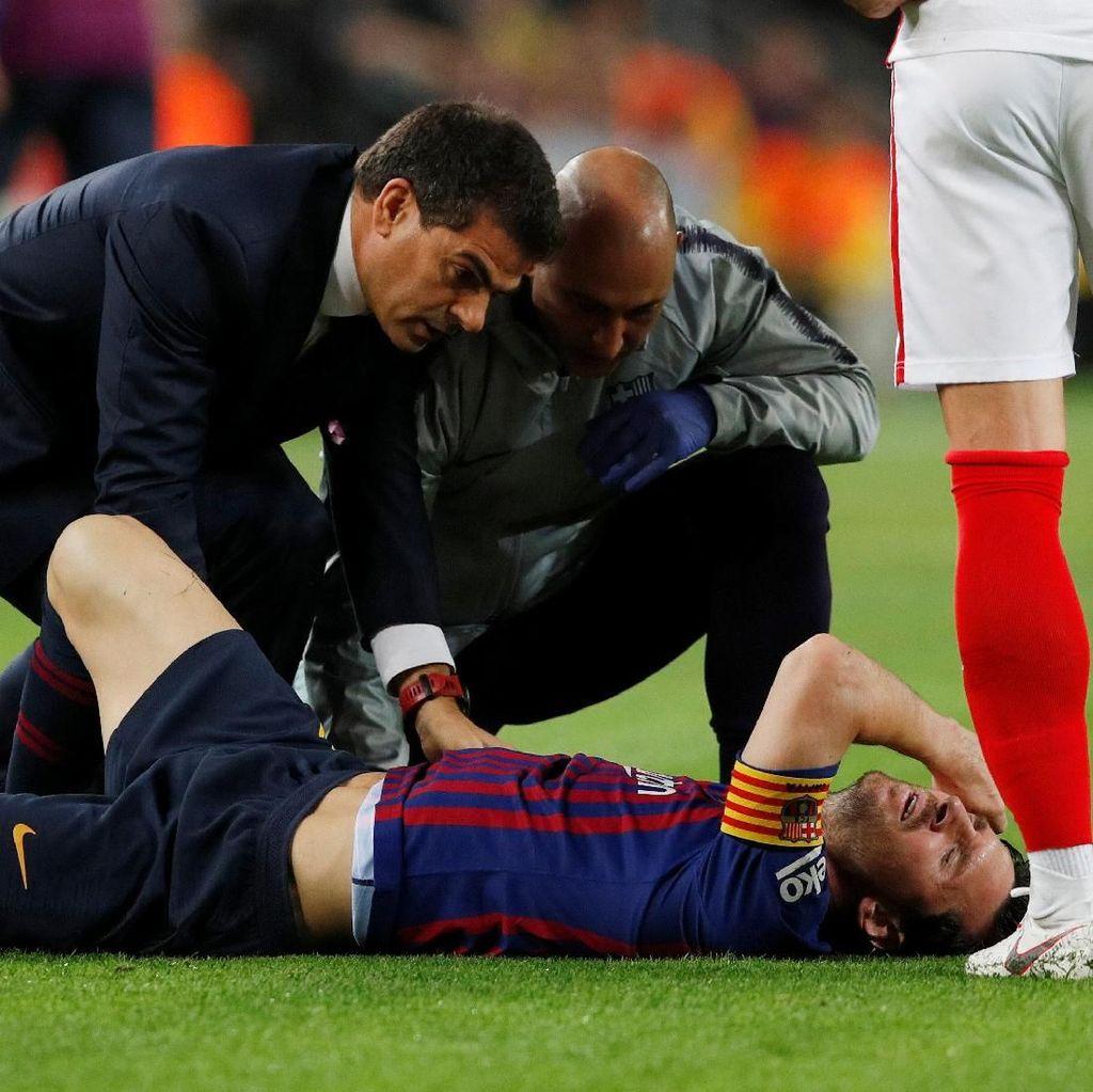 Mengenal Tulang Radial Messi yang Patah