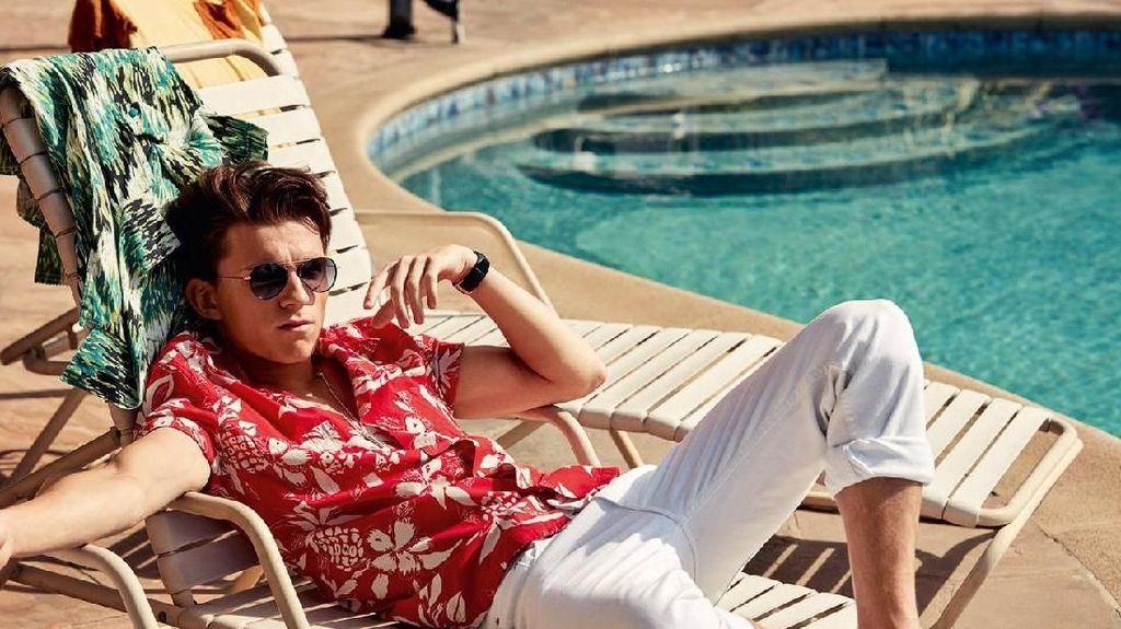 Chris Hemsworth dan Tom Holland Sedang Berada di Bali