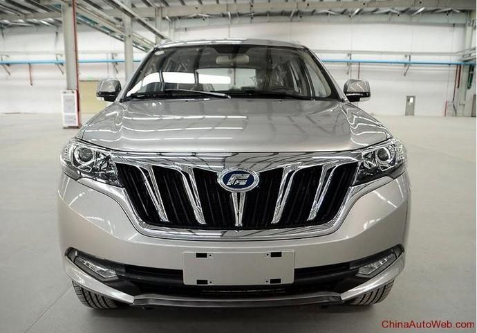Mobil China Foday Landfort yang Dibilang Kembaran Esemka Garuda