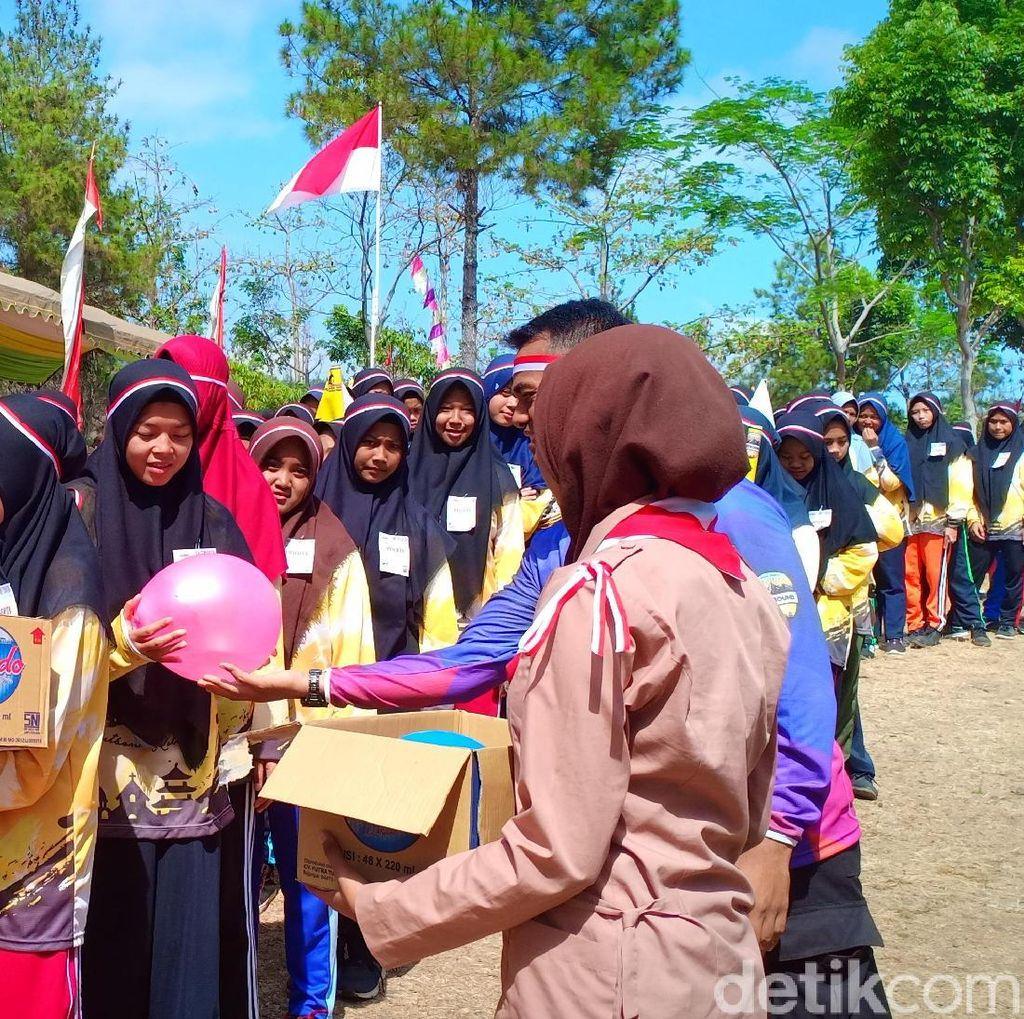 Hari Santri di Nganjuk Diperingati dengan Menggelar Outbound Religi