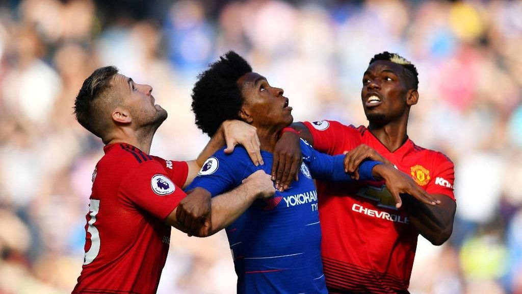 Panas Man United vs Chelsea dan Lanjutan Persaingan Gelar Man City - Liverpool