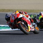 Dovizioso Crash, Marquez Mulus ke Tangga Juara Dunia