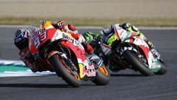 Marc Marquez Berpesta di MotoGP Jepang