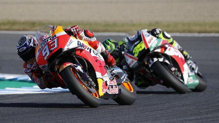 Marc Marquez di MotoGP Jepang 2018. (Foto: Toru Hanai/Reuters)