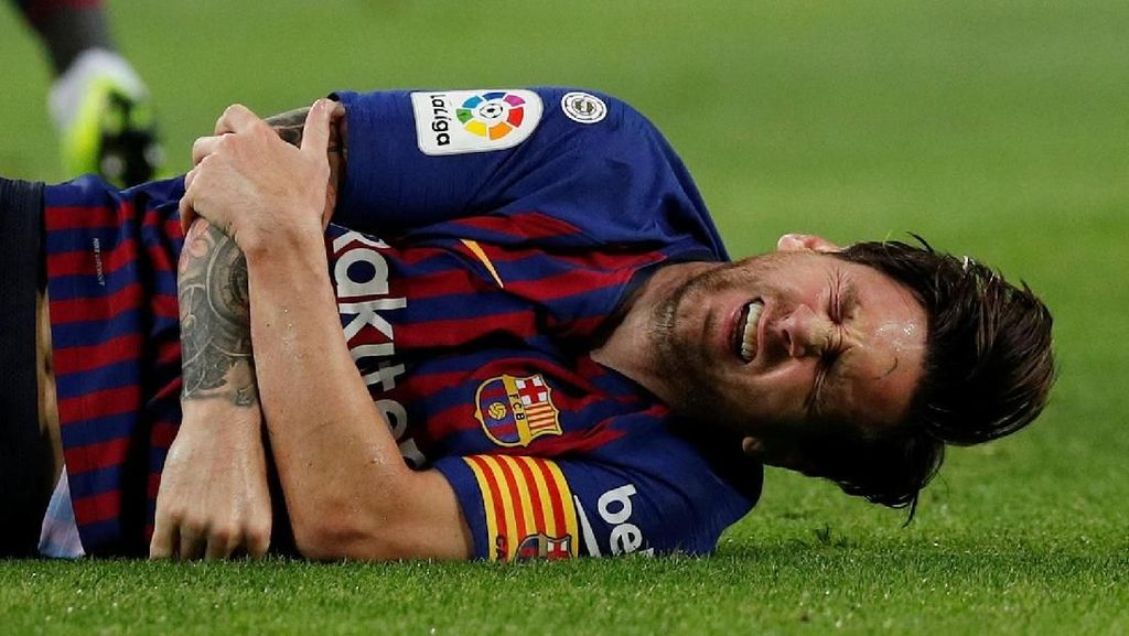 Messi Patah Tulang Radial, Tulang Apa Sih Itu?