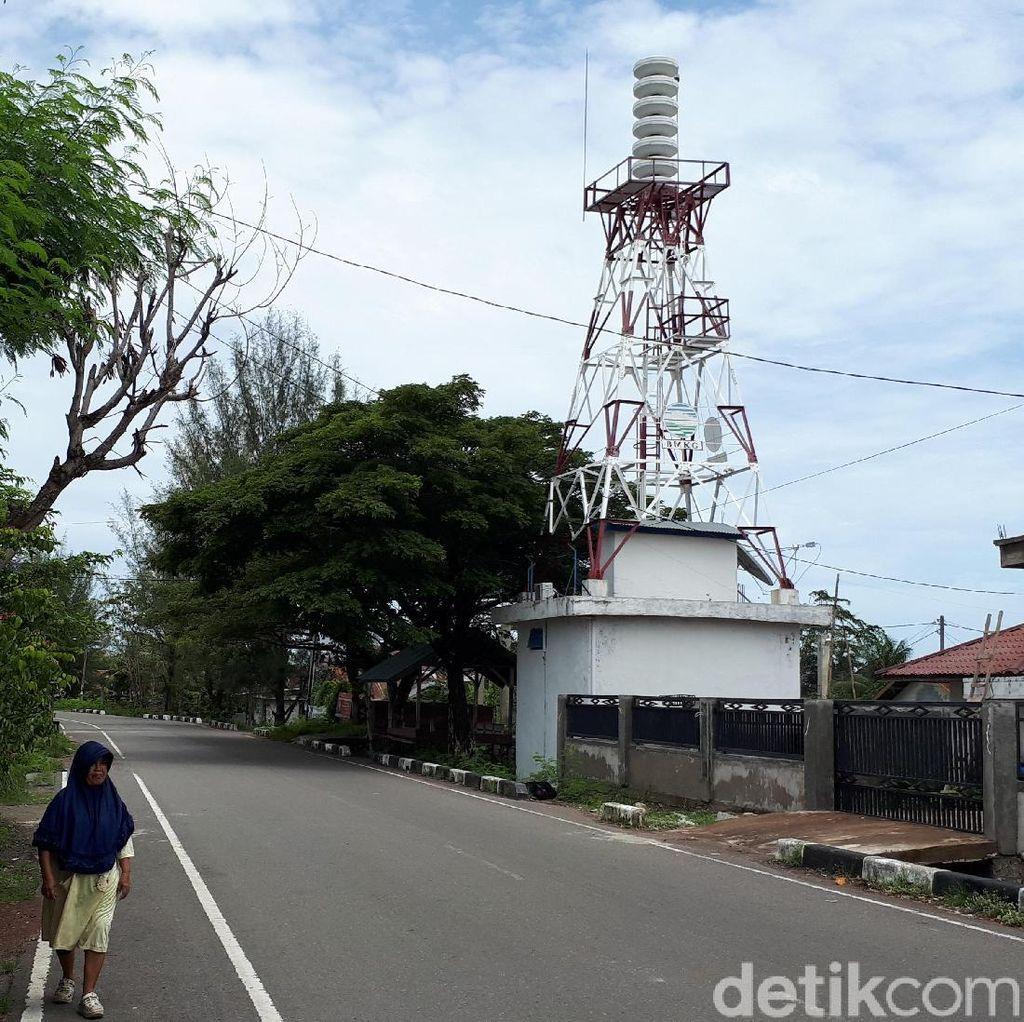 Saling Lempar Pengelolaan Sirene Tsunami Aceh
