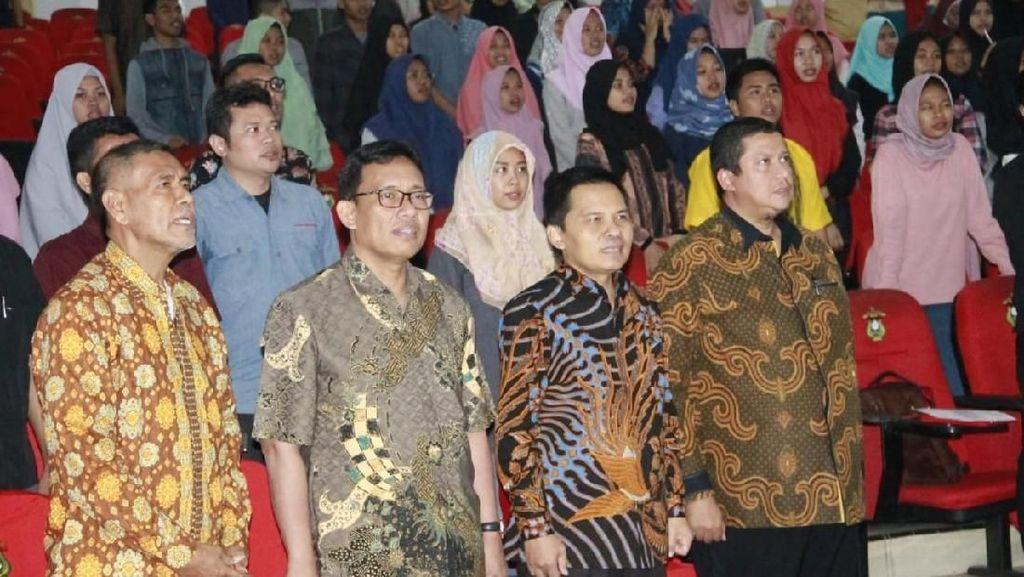 MPR Ajak Mahasiswa Unhas Tak Berhenti Perkuat Jati Diri Bangsa
