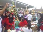 Desa di Lamongan Ini Gelar Festival Buah, 16 Gunungan Diperebutkan