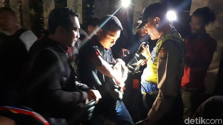 Operasi Cipta Kondisi di Kalibata, Polisi Amankan Motor Tanpa STNK