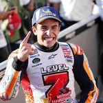 Video Marc Marquez Rayakan Juara Dunia MotoGP 2018