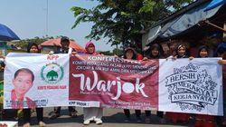 Pedagang Pasar Kalimalang Deklarasi Dukung Jokowi-Maruf Amin