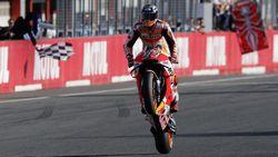 Marc Marquez Sukses Jinakkan Motor Honda yang Ganas