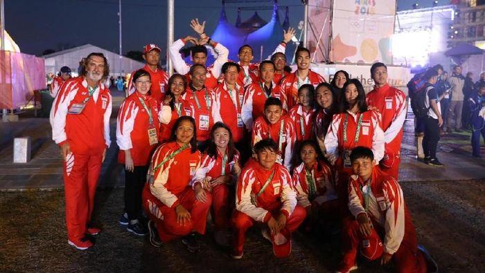 Menpora Imam Nahrawi mengapresiasi perjuangan atlet Indonesia di Youth Olympic Games 2018 (Foto: dok. Kemenpora)