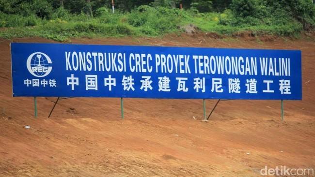 Lokasi proyek Kereta Cepat JKT-BDG. Foto: dok detikcom