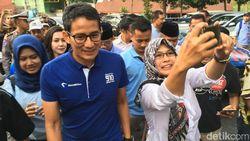 Jokowi Janji Dana Kelurahan, Sandi: Mungkin Khilaf
