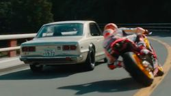 Ketika Marquez Kebut-kebutan di Jalanan Jepang