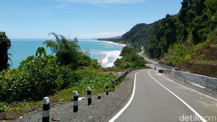 Penampakan Jalan Trans Papua Foto: Hendra Kusuma