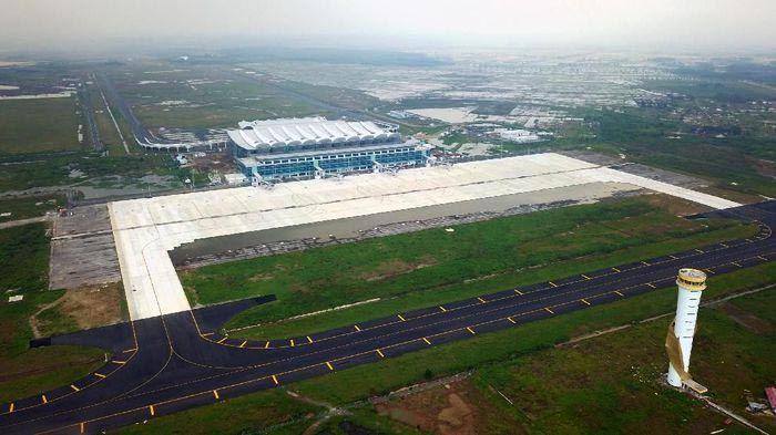 Jokowi mengatakan proyek bandara tersebut telah dicanangkan oleh Presiden RI ke-6 Susilo Bambang Yudhoyono (SBY) lebih dari satu dekade lalu. Istimewa/BIJB.