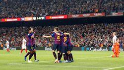 Hasil Liga Spanyol: Barcelona Tekuk Sevilla, tapi Messi Cedera