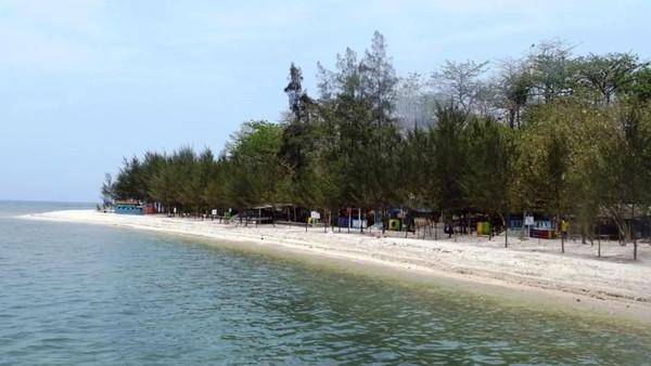 Pulau Panjang di Jepara Foto: (Udin Kudus/dTraveler)