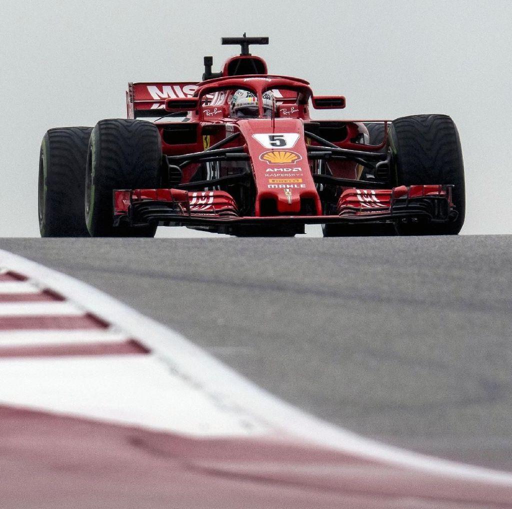 Ferrari Kuasai Free Practice III GP AS, Vettel Tercepat