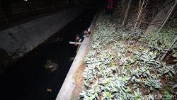 Razia Skala Besar di Surabaya, Pelanggar Ada yang Tercebur Selokan