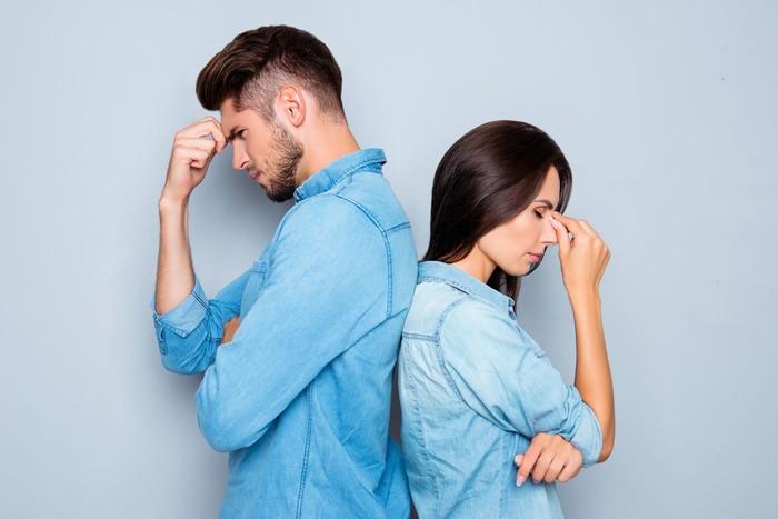 ilustrasi pasangan bertengkar. Foto: Istock