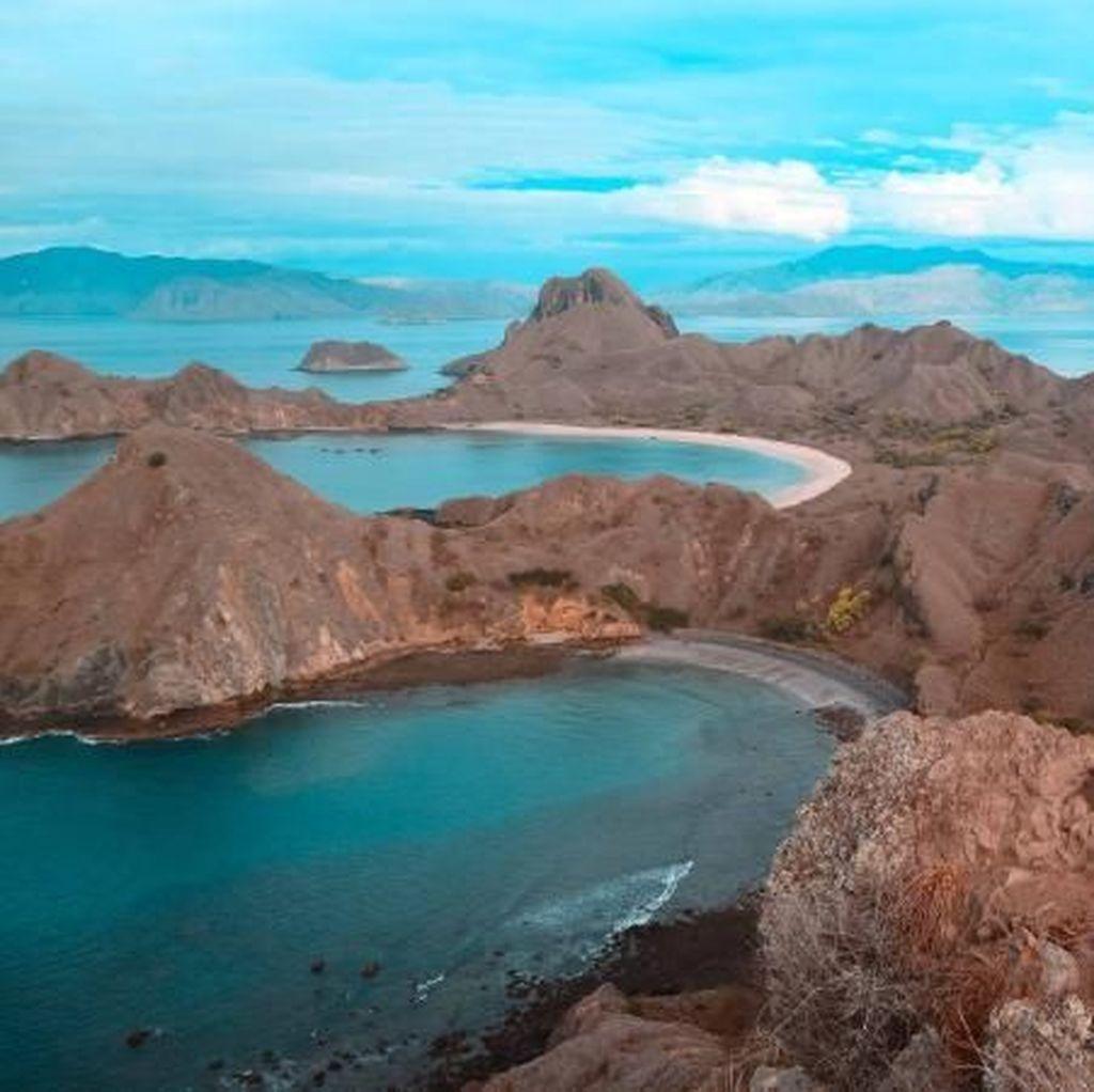 Keindahan Pulau Padar yang Tak Akan Pernah Pudar