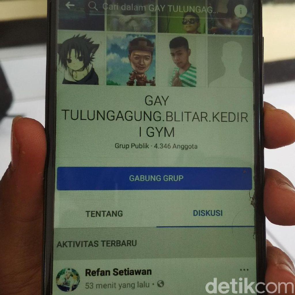 Duh, Akun Komunitas LGBT Juga Ditemukan Beredar di Blitar