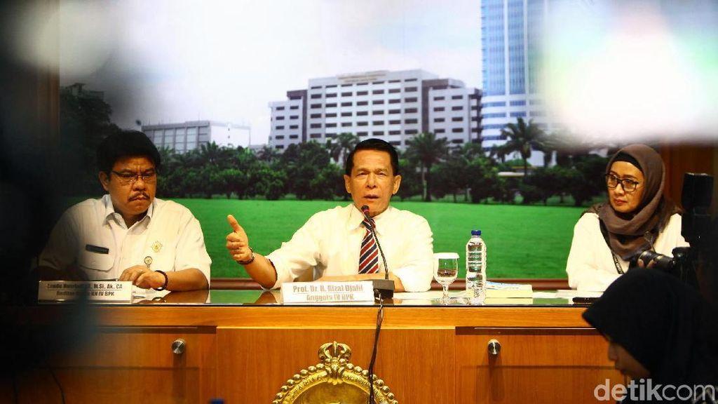 BPK Jelaskan Perihal Banyaknya Dana untuk Infrastruktur