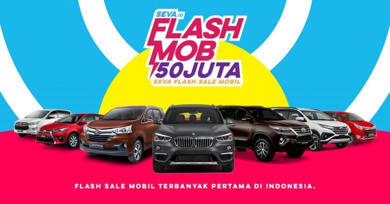 Flash Sale Mobil Rp 50 Juta. Foto: Dok. Seva.id