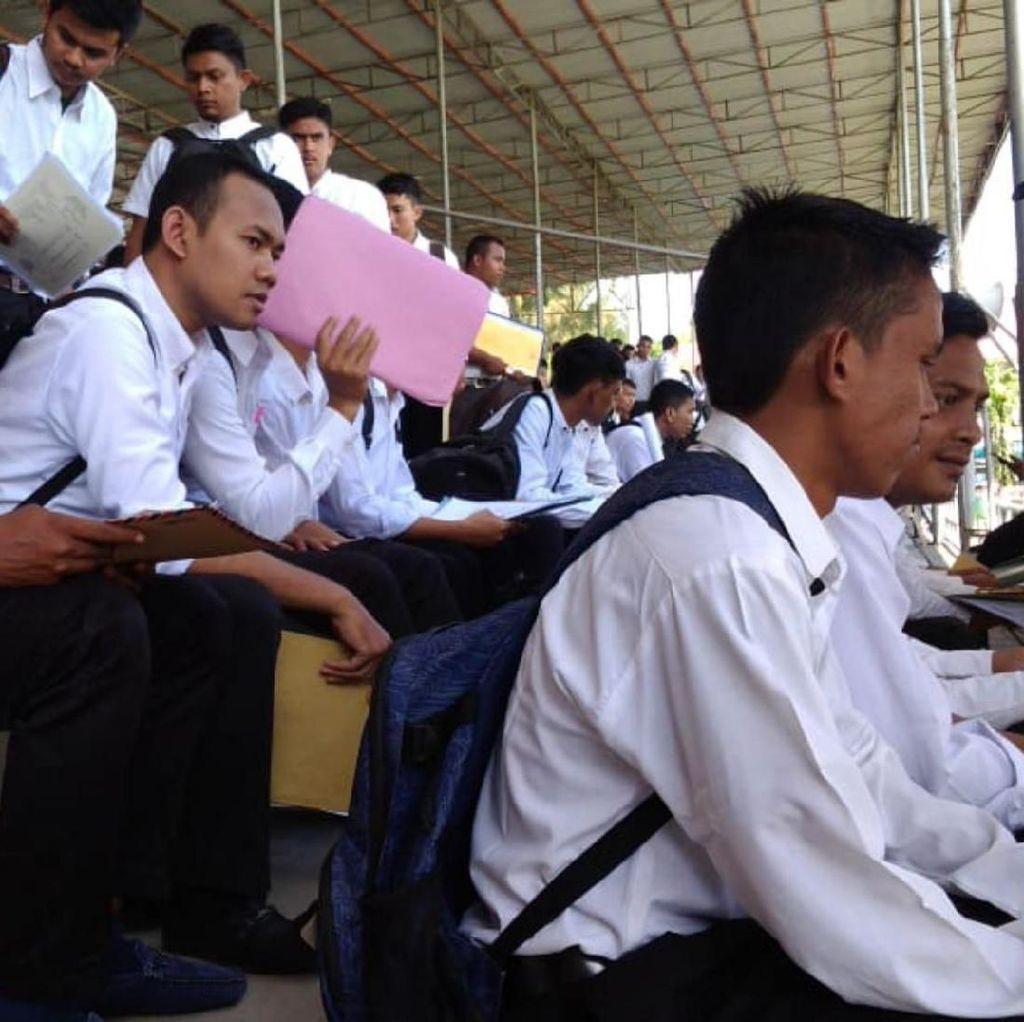 25 Kursi CPNS Sipir Diburu 15 Ribu Pendaftar, 1 Vs 600 Orang